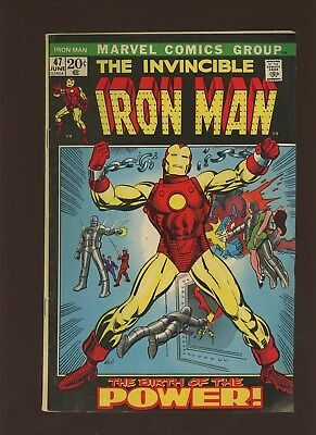 Iron Man 47 FN+ 6.5 * 1 Book * Marvel! 1968-74! Why Must There Be an Iron Man?
