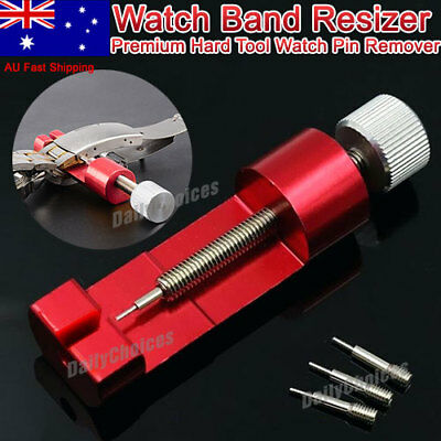 Alloy Metal Adjustable Watch Band Resizer Strap Link Pin Remover Repair Tool CU