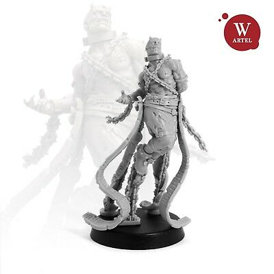 """28mm wargaming and collectible miniature, Captive Unleashed by """"W"""" Artel"""
