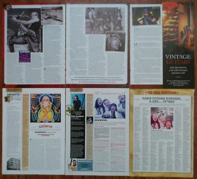 Hawkwind - magazine articles clippings