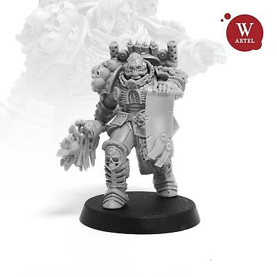 "28mm wargaming and collectible miniature, Unforgiven Chaplain by Artel ""W"""