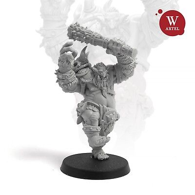 """28mm wargaming and collectible miniature, The Troll by Artel """"W"""""""