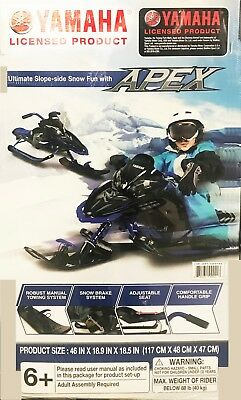 Yamaha Apex Snow Bike Sled