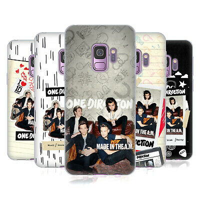 Official One Direction Made In The A.m. Soft Gel Case For Samsung Phones 1