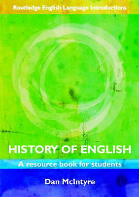 History of English: A Resource Book for Students (Routledge English Language Int