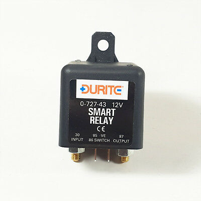 Durite 12V 200A Smart Programmable Voltage Sensitive Split Charge Relay 0-727-43