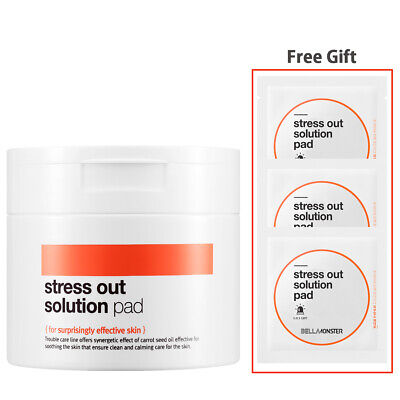 [BELLAMONSTER] Stress Out Solution Carrot Seed Oil Pad 70p/ Exfoliators, Peeling