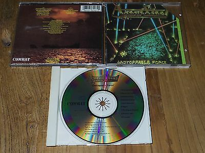 AGENT STEEL Unstoppable Force 1ST CD ORG MADE IN JAPAN COMBAT EXODUS DARK ANGEL