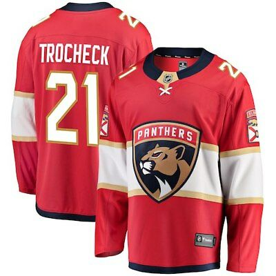 Fanatics Branded Vincent Trocheck Florida Panthers Red Breakaway Jersey 30650b8f3