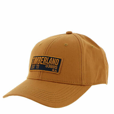 1d709c806 TIMBERLAND MEN'S DARK Gray Cotton Tree Logo Baseball Cap A1EJR ...