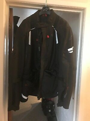 Alpinestars Motorcycle Bike Adventure Touring Andes Drystar  Textile Jacket 6xL