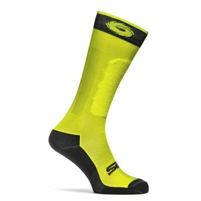 Sidi Motorcycle Motorbike Socks GP Yellow Fluorescent Yellow