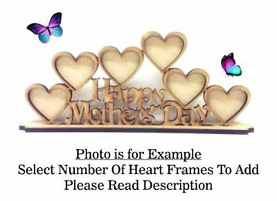 Family Birthday Gift PL54 OPTIONS AUNTY Build Your Own Wooden MDF Photo Frame