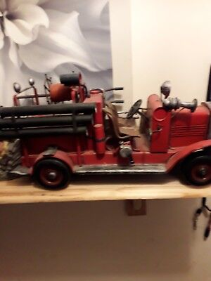 Fire engine Truck red