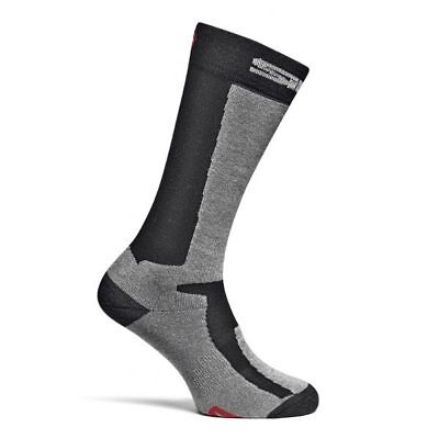 Sidi Motorcycle Motorbike Socks Mugello Black Grey