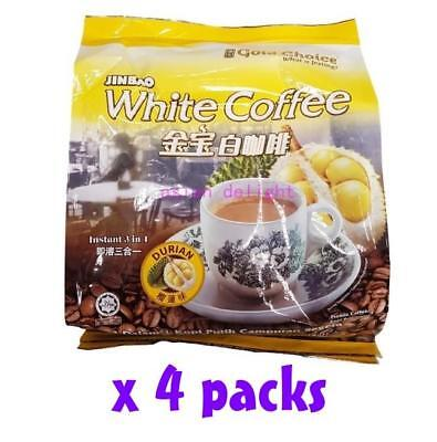 Gold Choice Jinbao White Coffee Durian 3 in 1 Instant white coffee (35g x 60 s)