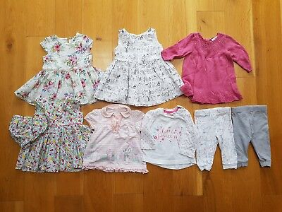3-6 months Baby Bundle Dresses Tops Trousers Shorts Girls 9 items NEXT George