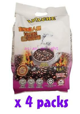 Apache Instant Ipoh China Town Charcoal White coffee 2 in 1 (20 g x 80 sachets)