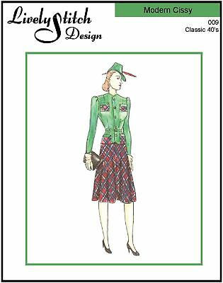 "The Next Big Thing sewing pattern for the 21/"" Modern Cissy by Madame Alexander"