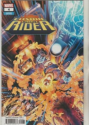 Marvel Comics Cosmic Ghost Rider #4 December 2018 Nycc Exclusive Variant Nm