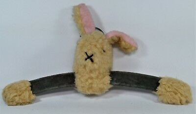 Vintage Childs Rabbit Head Coat Hanger In Good Condition.  No Maker.