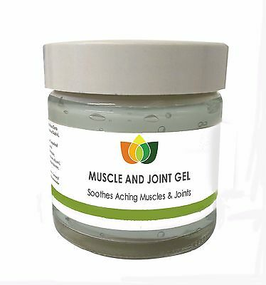 Muscle and Joint Gel to Soothe Aching Joints Aromatherapy Multiple Sizes