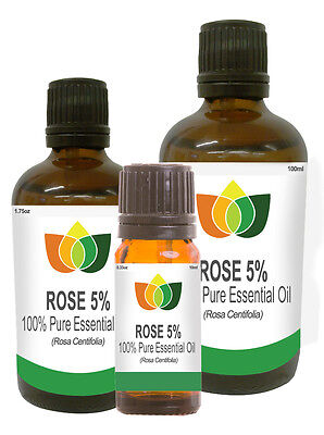 Rose Maroc Pure Essential Oil 5% Blend Natural Authentic Aromatherapy