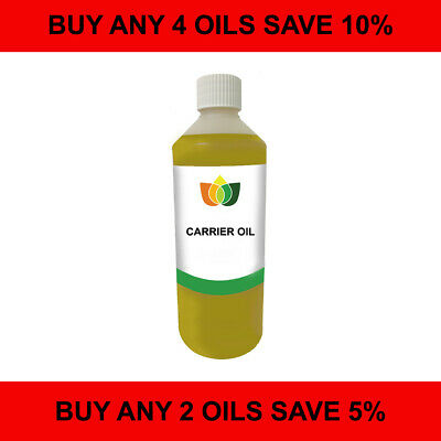 500ml Carrier/Base Oil Multi-List. Choose from 60 Cold Pressed Carrier Oils