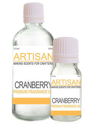 CRANBERRY FRAGRANCE OIL 10ml 100ml for Candles Melts Home PotPourri