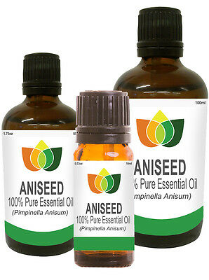 Aniseed Pure Essential Oil Natural Authentic Pimpinella Anisum Aromatherapy