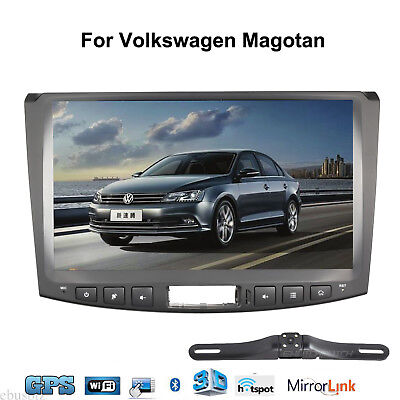 Android 7.1 Car Radio GPS BT Touch 4G Stereo Wifi Map Uint For VW Magotan+Camera