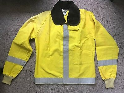 PGI Firefighter, Flame Resistant, Jacket, Turnout Coat, With Liner, Size M