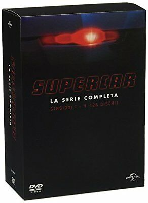 Supercar Complete Collection Stagioni 1-4 26 Dvd