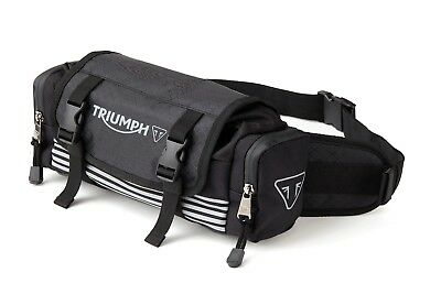 GENUINE Triumph Motorcycles T18 Waistpack Bag Luggage NEW 2018