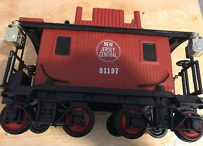 Jim Beam New Jersey Central 91197 Train Caboose -Empty