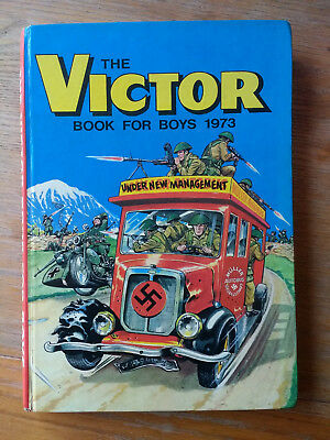 Victor Book for Boys 1973 annual, price intact