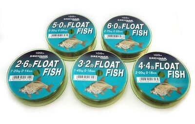 Drennan Float Fish Line 100m Mono ALL SIZES
