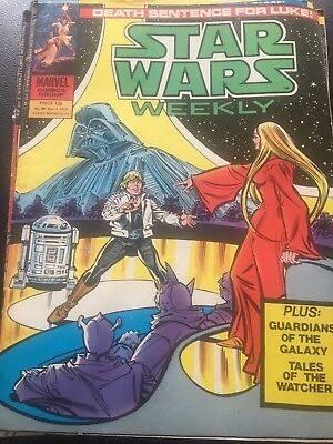 Star Wars Weekly Comic Marvel UK November 1979 Issue 89