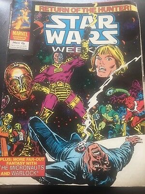 Star Wars Weekly Comic Marvel UK April 1979 Issue 61