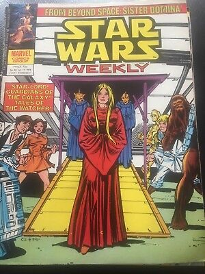 Star Wars Weekly Comic Marvel UK October 1979 Issue 86