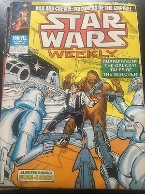 Star Wars Weekly Comic Marvel UK October 1979 Issue 88