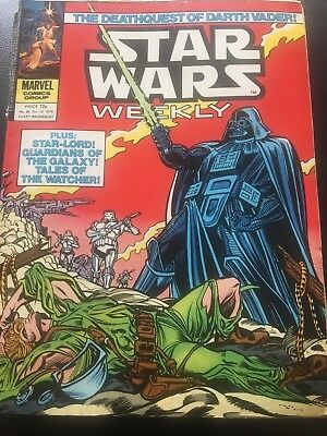 Star Wars Weekly Comic Marvel UK October 1979 Issue 85