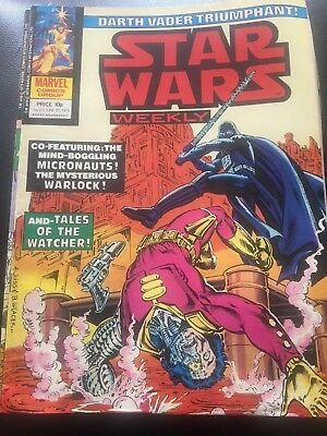 Star Wars Weekly Comic Marvel UK June 1979 Issue 69