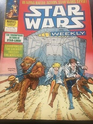 Star Wars Weekly Comic Marvel UK August 1979 Issue 77