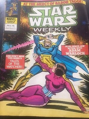 Star Wars Weekly Comic Marvel UK July 1979 Issue 72