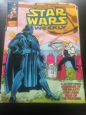 Star Wars Weekly Comic Marvel UK October 1979 Issue 87