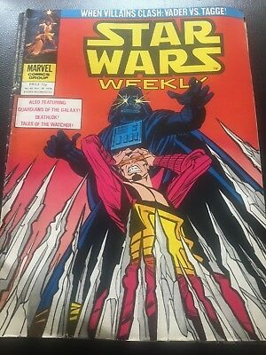 Star Wars Weekly Comic Marvel UK November 1979 Issue 92