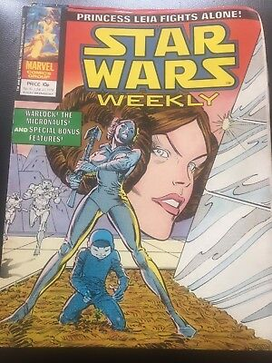 Star Wars Weekly Comic Marvel UK June 1979 Issue 70