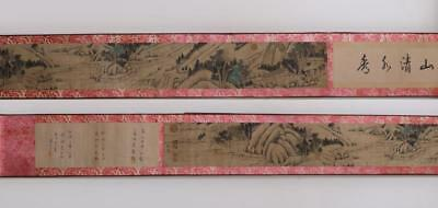 Very Rare Old Chinese Hand Painting Scroll Guo Xi 410Cm (454)