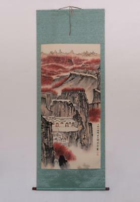 Fine Chinese Hand Painted Painting Scroll Qian Songyan (391)